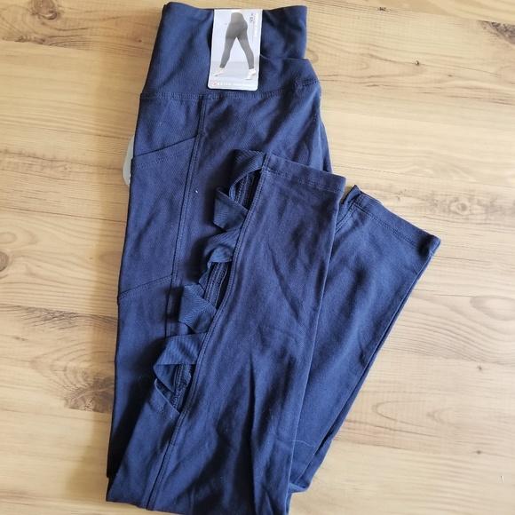 "Bally Pants - NWT Bally 25"" Ankle Legging w/ Pockets"